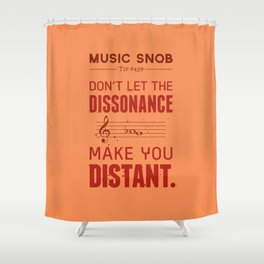 Spooky Scary Dissonance! — Music Snob Tip #439.5 Shower Curtain