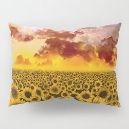 sunflowers Pillow Sham