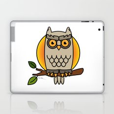 Owl in a Circle Laptop & iPad Skin