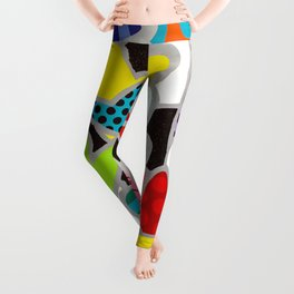 pop art Leggings