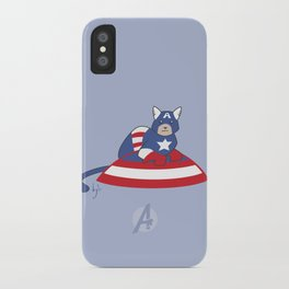 Captain AmeriCAT: The First Catvenger iPhone Case