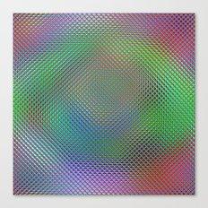 Color Crystals Canvas Print