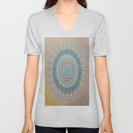 Mursy Hill Wish Board Mandala Unisex V-Neck