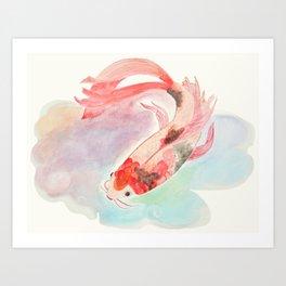 Koi Koi Koi  Art Print