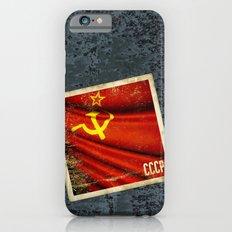 Sticker of Soviet Union (1922-1991) flag Slim Case iPhone 6s