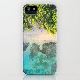 Caribbean Aerial iPhone Case