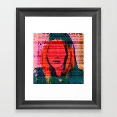 Sharon T8 Framed Art Print
