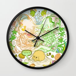 I Pine For You Wall Clock