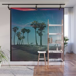 The solo surfer Wall Mural