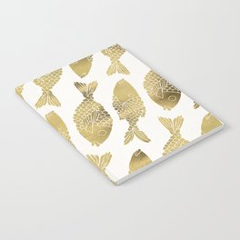 Indonesian Fish Duo – Gold Palette Notebook