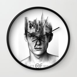 New York is on my mind Wall Clock