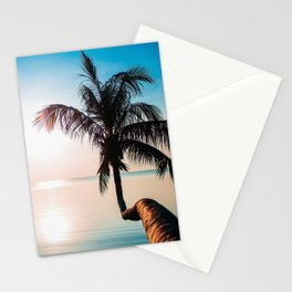 Tropic sunset Stationery Cards