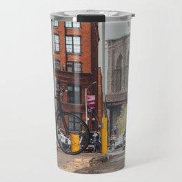 Crossing the divide Travel Mug