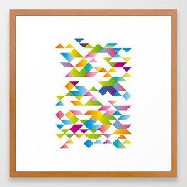 geocolore II Framed Art Print