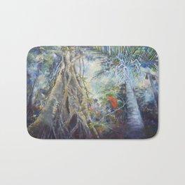 Tropical Rainforest Bath Mat