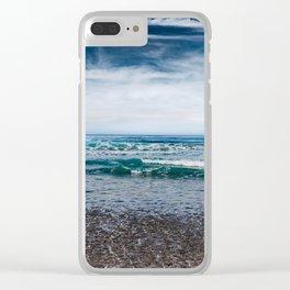 Torrey Pines San Diego III Clear iPhone Case