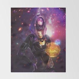 Tali'Zorah vas Normandy (Mass Effect) Art Throw Blanket