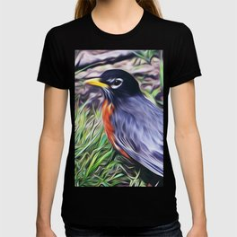 Red Breast T-shirt