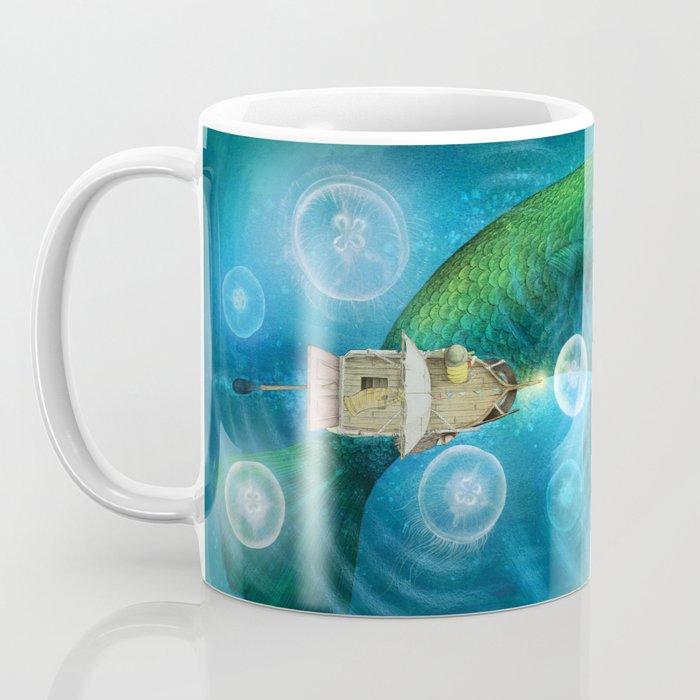 Sea of Moon Jellies Coffee Mug