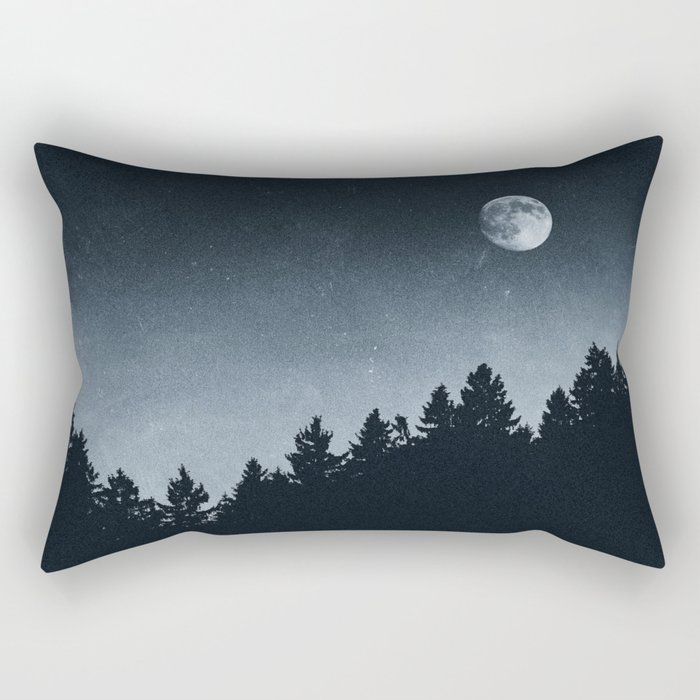 Under Moonlight Rectangular Pillow