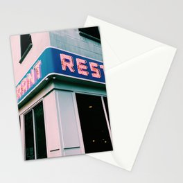 The Seinfeld Restaurant  Stationery Cards