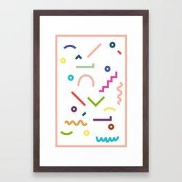 Languages Framed Art Print