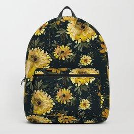 Sunflower Sparkle - black Backpack