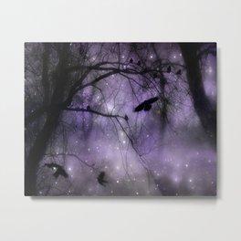 Misted Purple  Metal Print