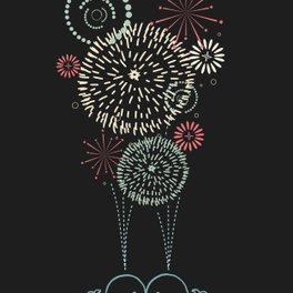 Art Print - FIrst Kiss - I Love Doodle