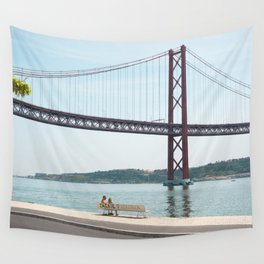 Jackie Lisbon Wall Tapestry