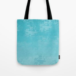Icy Blue Abstract Tote Bag