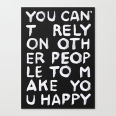 Rely Canvas Print