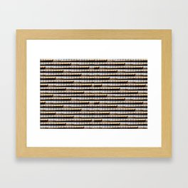 Byrons Rock Framed Art Print