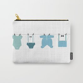It's a boy. Welcome, baby arrival body suits Carry-All Pouch