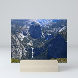 Vernal Falls And Nevada Falls Mini Art Print