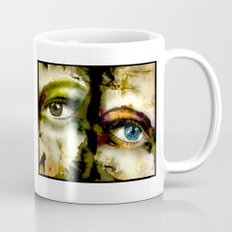 2Eyes2Faces by carographic Mug