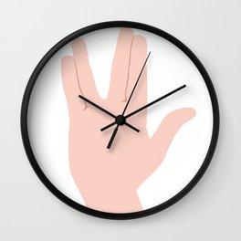 Live Long & Prosper Wall Clock