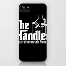 Muse the Handler iPhone Case
