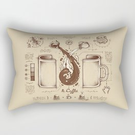 Le Coffee (Fluid of Creativity) Rectangular Pillow