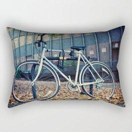 Locked bike Rectangular Pillow