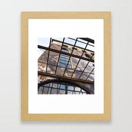 OLD FACTORY BUILDING Framed Art Print