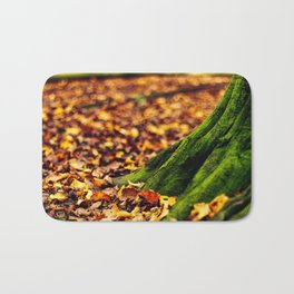 Green Roots Bath Mat