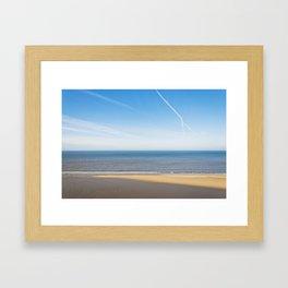 Sandbar  Framed Art Print