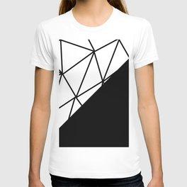 ART DECO PATTERN (BLACK-WHITE) T-shirt