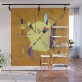 Wassily Kandinsky Diagonal Wall Mural