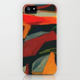 Lessons To Learn Abstract Landscape iPhone Case