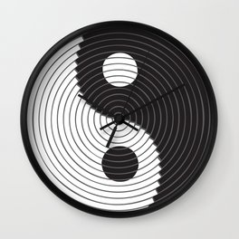 PEACE SIGN VECTOR Wall Clock