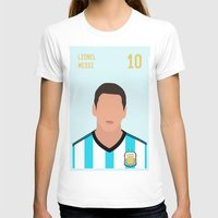 messi T-shirts featuring MESSI by Anthony Morell