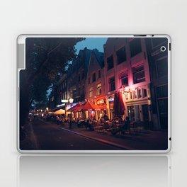 Nightlife in Amsterdam Laptop & iPad Skin