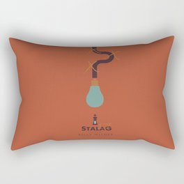 Stalag 17 - Billy Wilder Movie Poster Rectangular Pillow